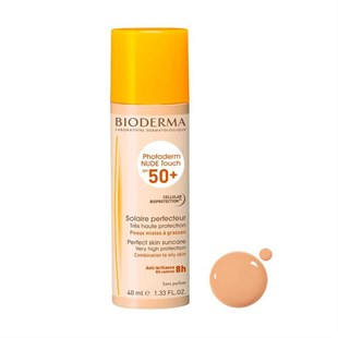 ​Bioderma Photoderm Nude Touch Spf 50+ 40 ml Natural