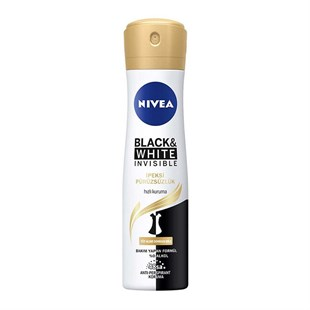 Nivea Invisible Black & White İpeksi Pürüzsüzlük 150 ml Deo Sprey